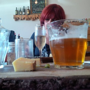 Montfort Beer and Cheese Flight