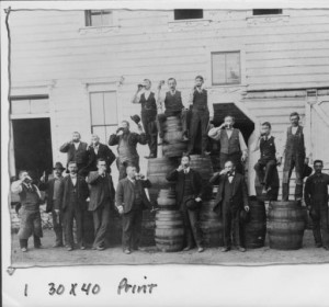 Circa-1900 Image from Grace Bros Brewery