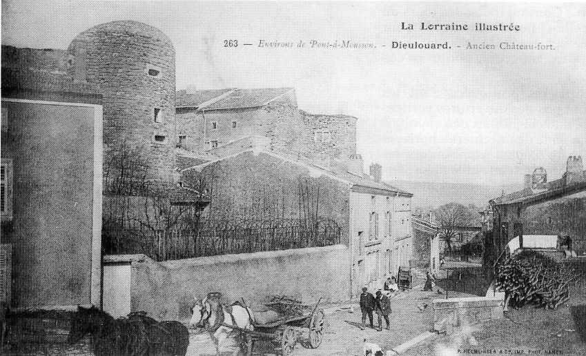 Dieulouard_chateau_1914