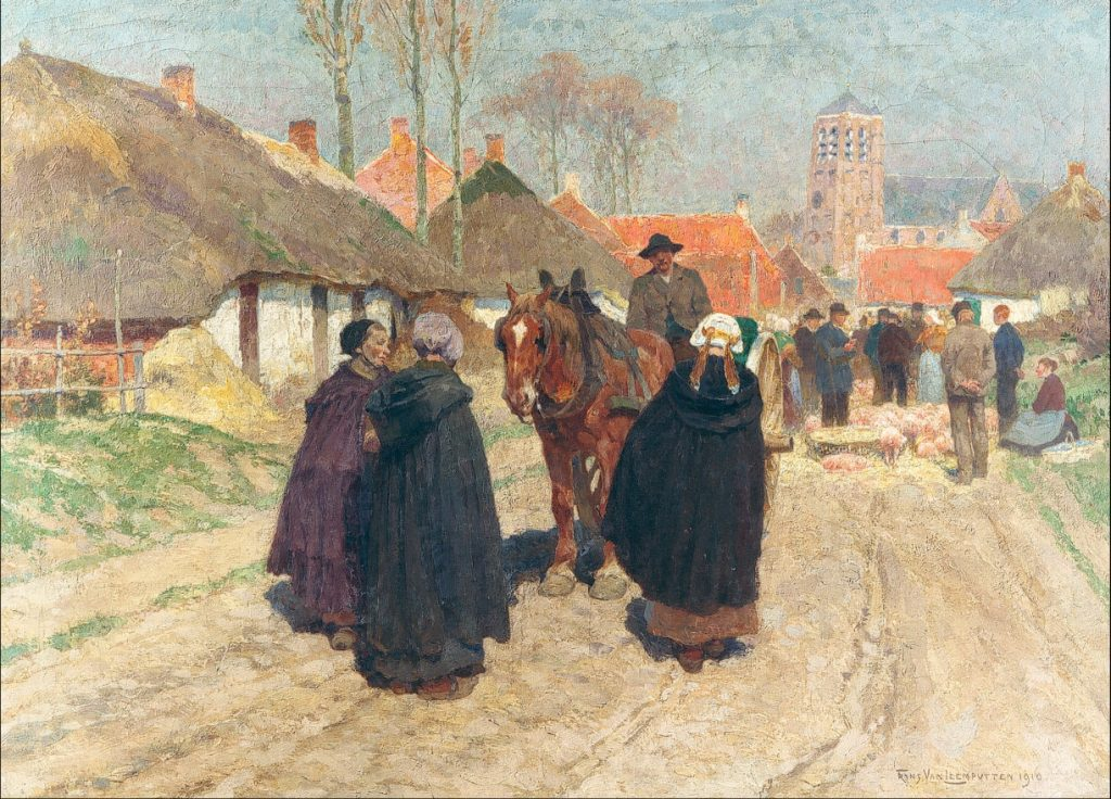 Frans_Van_Leemputten_-_Market_day_in_the_Campine