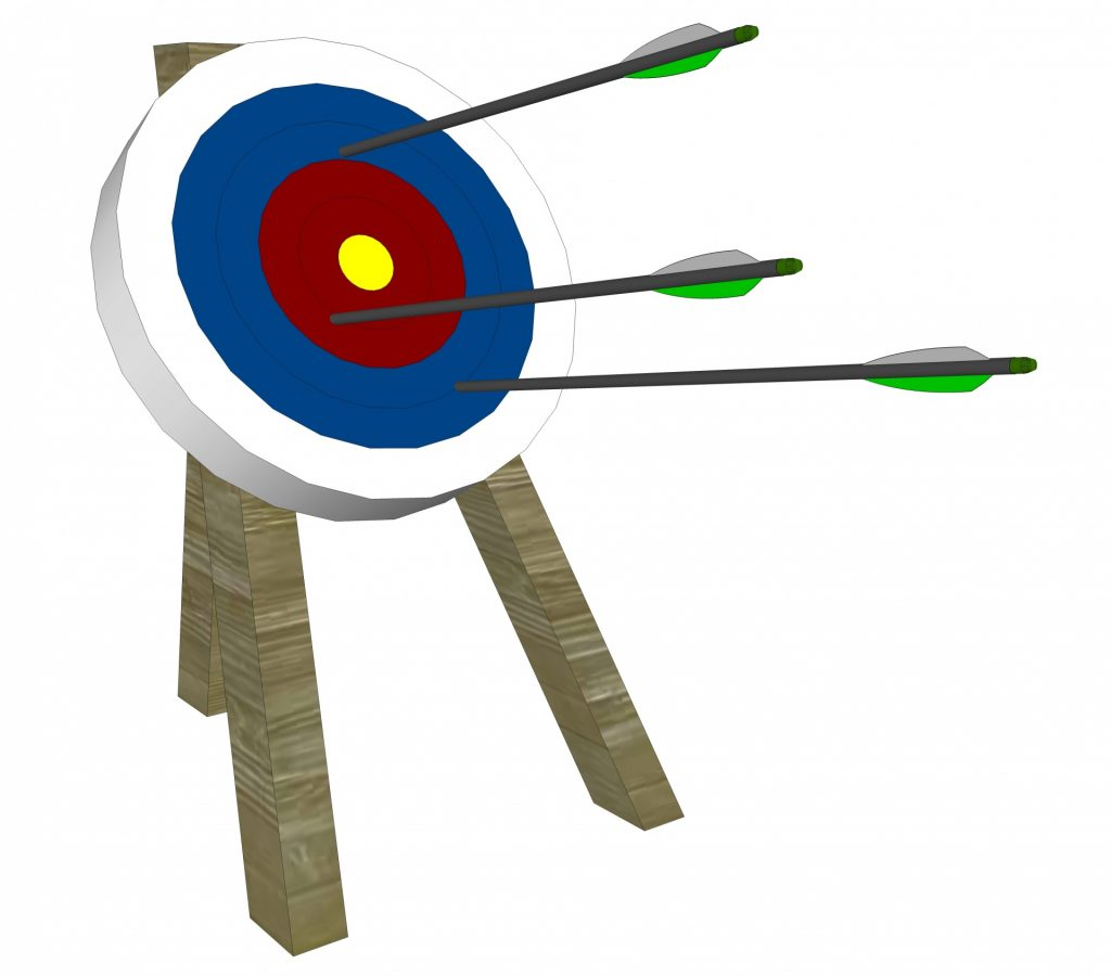 archery-and-target